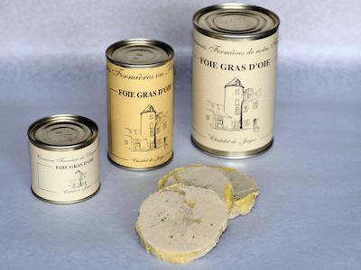 Foie Gras D'Oie Entier (boîte)