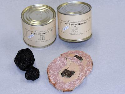 Pâté De Foie Gras D'Oie Truffé