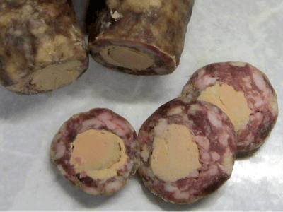 Saucisson Au Foie Gras D'Oie
