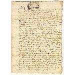 Extrait d'un Acte Notarié - 1686