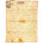 Extrait d'un Acte Notarié - 5 Mai 1715