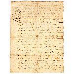 Extrait d'un Acte Notarié - 28 Janvier 1714
