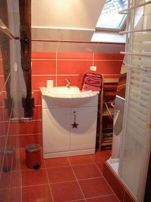 Marie-Louise-Chambre Salle de douche