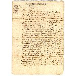Extrait d'un Acte Notarié - 21 Juin 1676